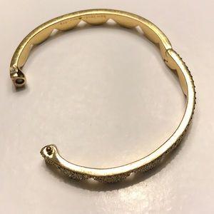 Kate Spade Scalloped Pave Bangle Bracelet